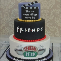 Friends TV Show Themed 30th Birthday