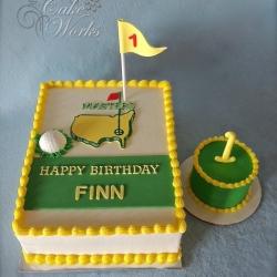 Golf fan 1st bday