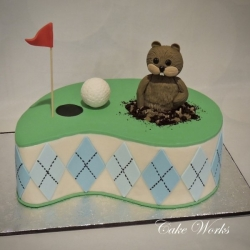 Caddy Shack Gofer Grooms Cake