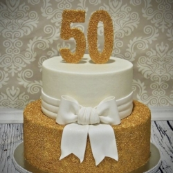 Glittering Gold 50th Birthday