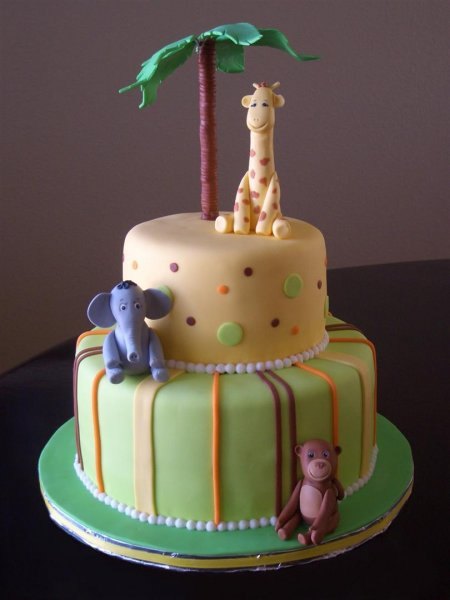 jungle themed baby shower cakes on pinterest jungle theme baby