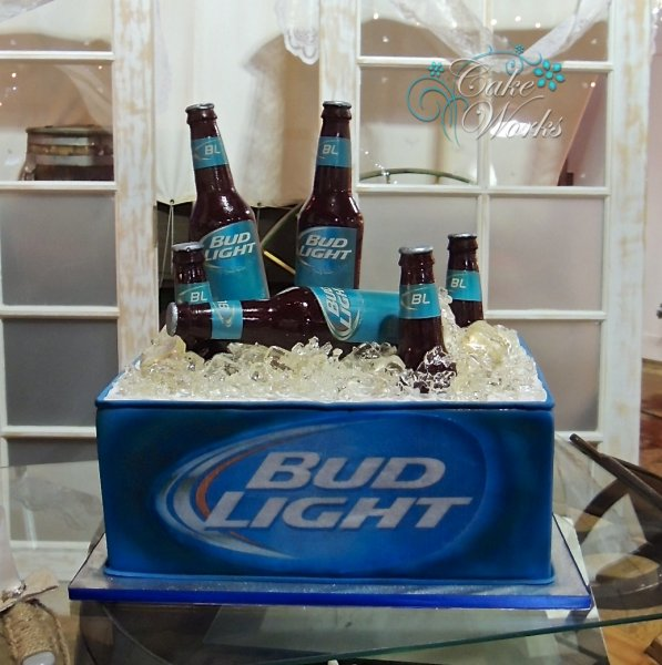 Bud Light Ice Chest