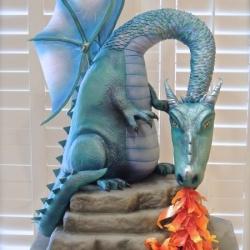 Dragon Breath - 2015 Extravagant Cake
