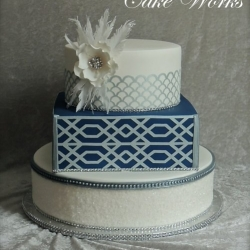 Speak Easy Wedding Cake