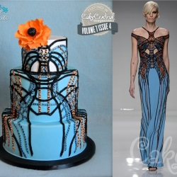 Cake Central Magazine Feature - Versace Fashion