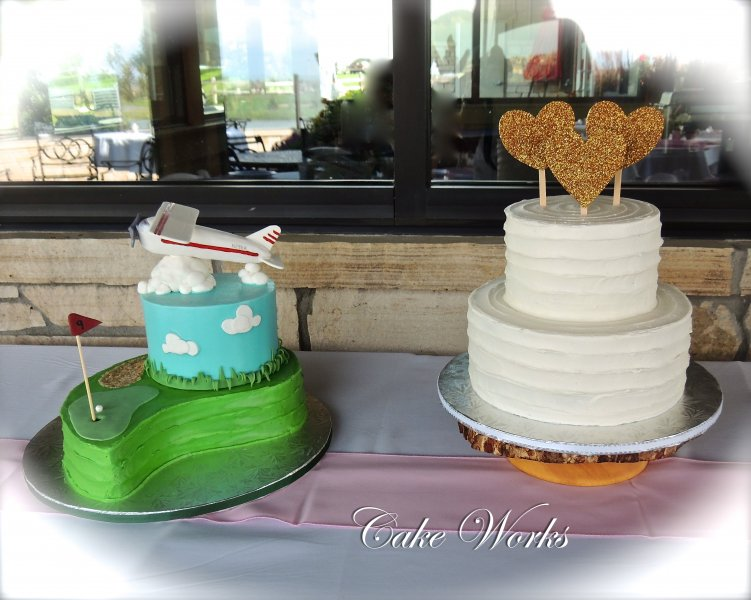 Plane cake for wedding