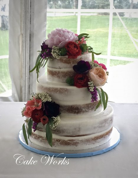 typical size of wedding cakes wedding cake photo gallery cake works 21395